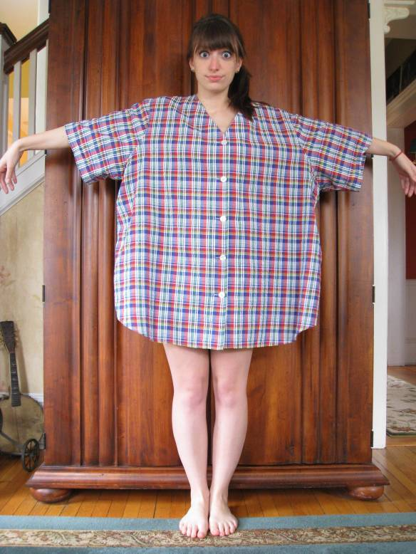 Craftsicles: Monstrous Madras Shirt Refashion