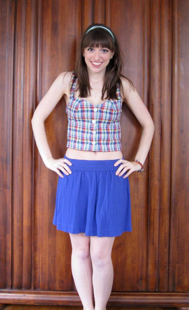 buttoned-shirt-refashion-crop-top-after-skirt