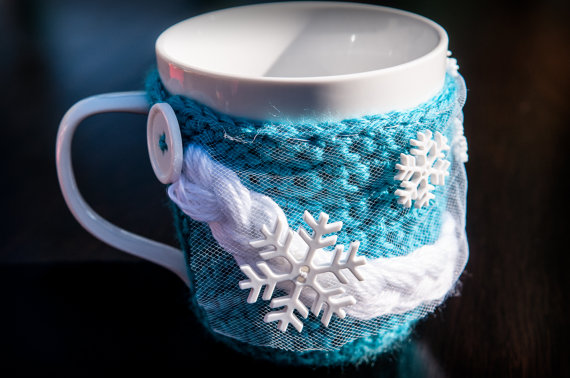 Disney princess Elsa mug cozy - Etsy product