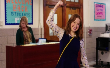 Unbreakable Kimmy Schmidt fashion - Kimmy Goes to School breakfast club