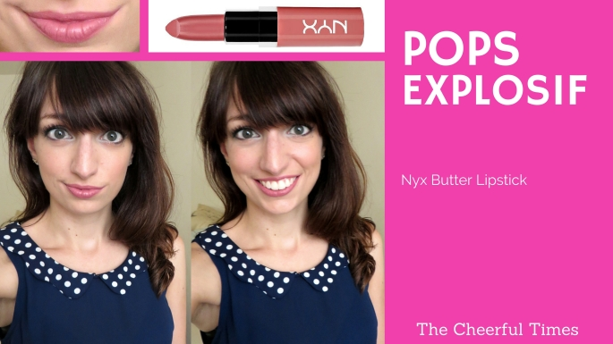 - NYX Butter Lipstick drugstore makeup review | The Cheerful Times